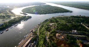 Dunav - ušće (foto: B. Jovanović)