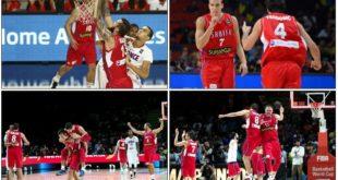 Košarka: Srbija - Francuska (foto: KSS)