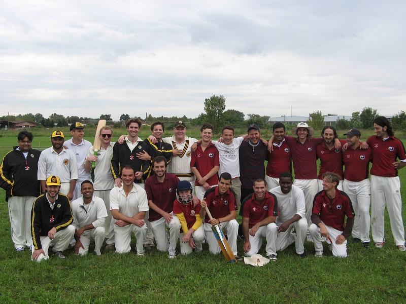 Kriket - KK Stari grad i CC Minhen