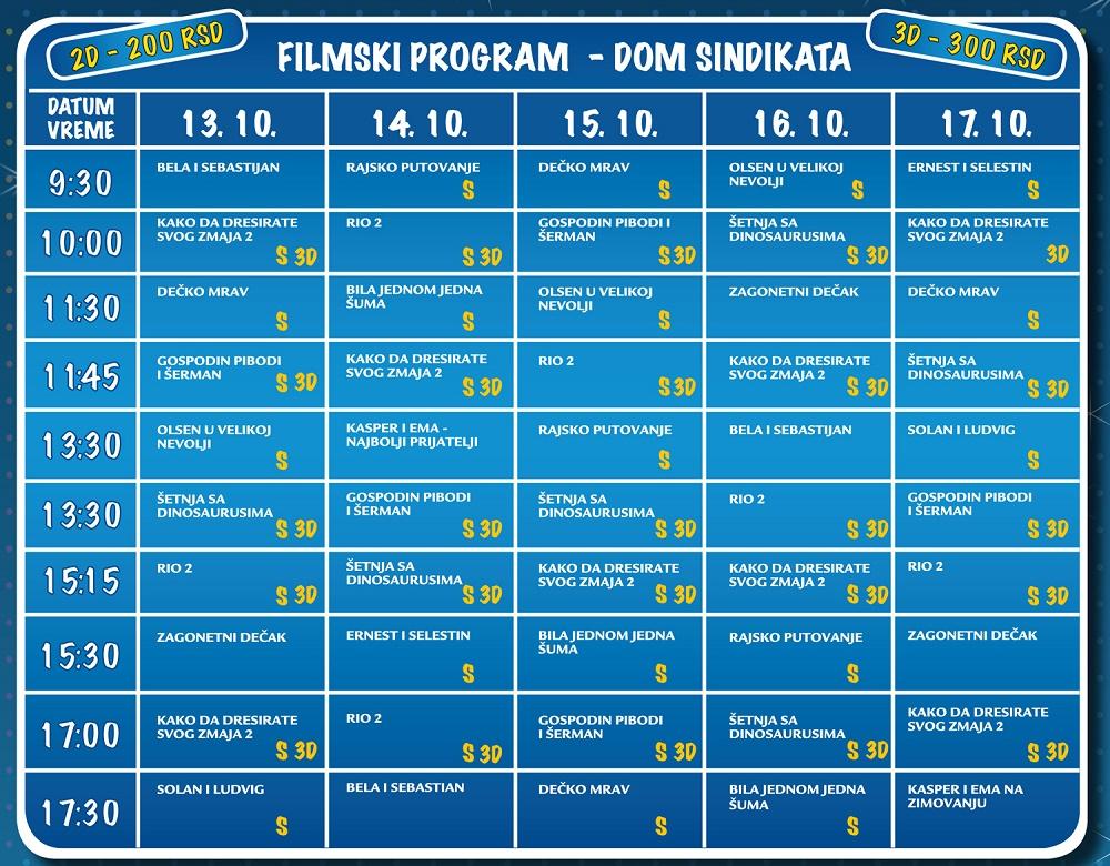 Kids Fest 2014 - program