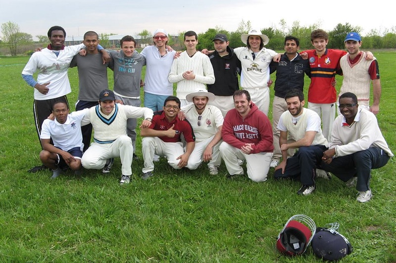Igrači kriketa u Srbiji