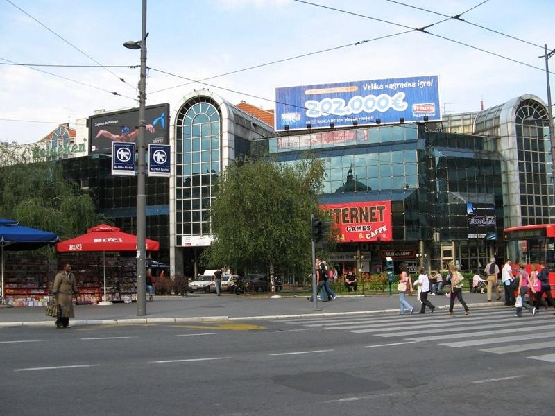 Centar Beograda - TC Staklenac