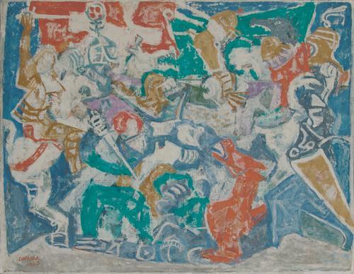 Petar Lubarda - Kosovski boj (1953)