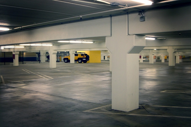 Podzemna garaža u Beogradu