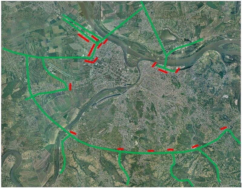Pupinov most - obilazak oko Beograda