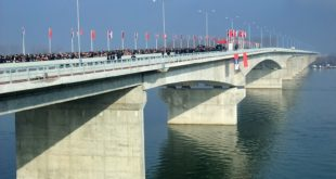 Pupinov most - otvaranje
