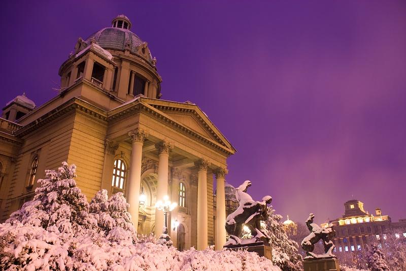 Sneg u Beogradu