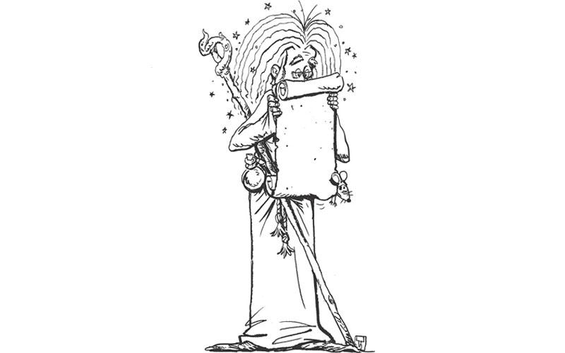 Kreativni centar: Čarobnjak Dandruf i Izgubljena knjiga