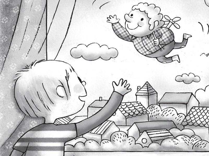 Astrid Lindgren - Karlson s krova ponovo leti