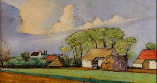 Narodni muzej: Sava Šumanović - Motiv iz Šida
