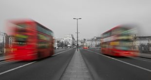 Pogled iz gradskog autobusa