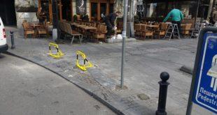 Mehaničke prepreke za zatvaranje pešačke zone
