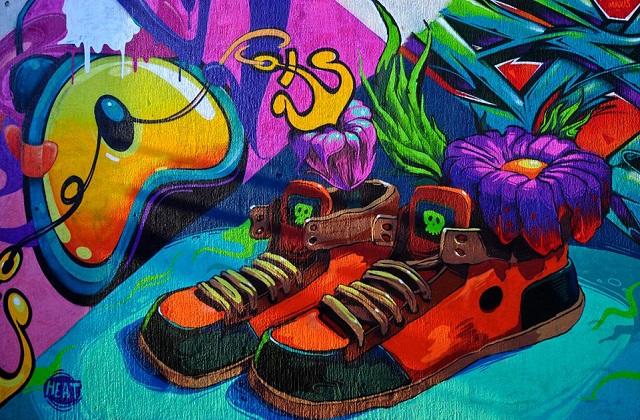 Mikser festival - street art