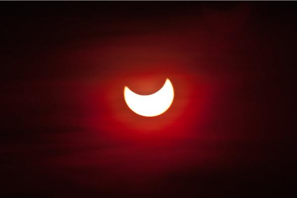 Organizovano posmatranje pomračenja Sunca