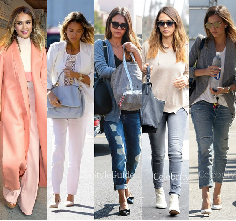 Street Style: Džesika Alba