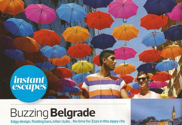 The Sunday Times Travel Magazine o Beogradu