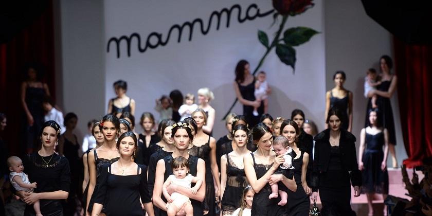 """Viva la mamma"" by Dolce & Gabanna (foto: elle.com; instagram.com)"