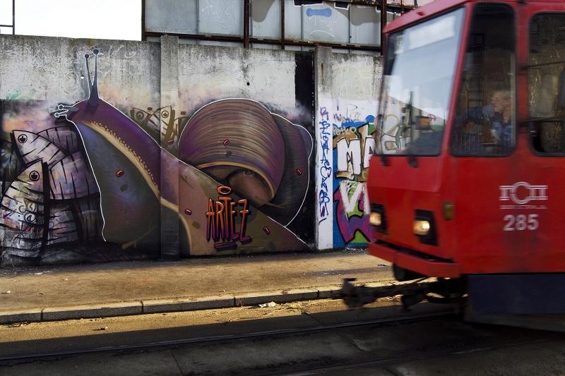 Artez - Beograd - Racing Snail