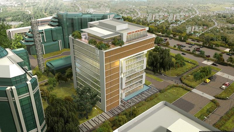 Delta Holding - poslovna zgrada