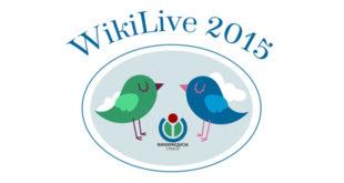 WikiLive 2015 - logo