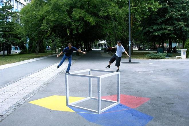 Prvi put u Beogradu: 3D street art - Vizure grada