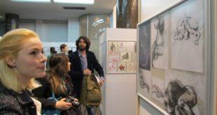 Izložbe: Akt - crteži (studenti FPU)