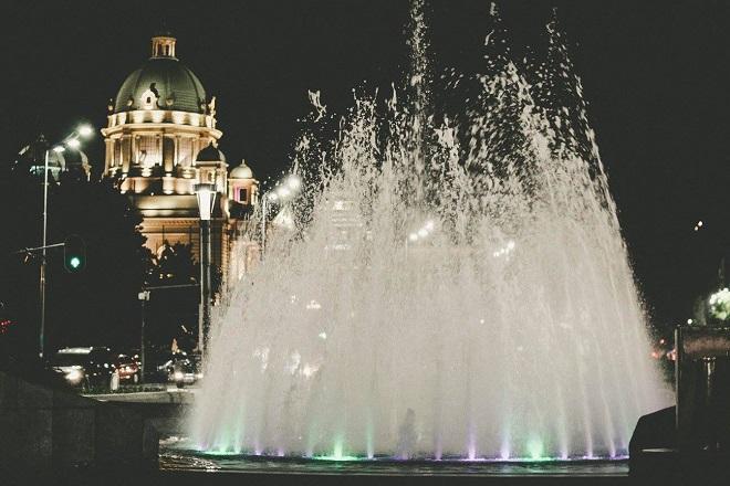 Prolećno veče u Beogradu (foto: Ivana Botić); www.danubeogradu.rs