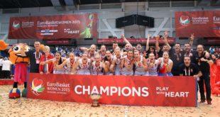 Doček košarkašica - evropskih prvakinja (foto: kss.rs)