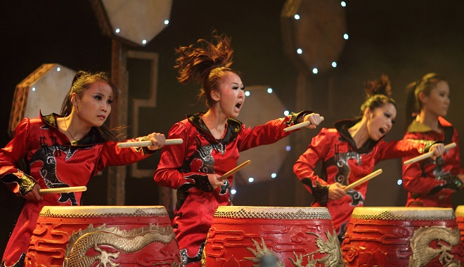 Manao - Drums of China (foto: Rainer Hackl)