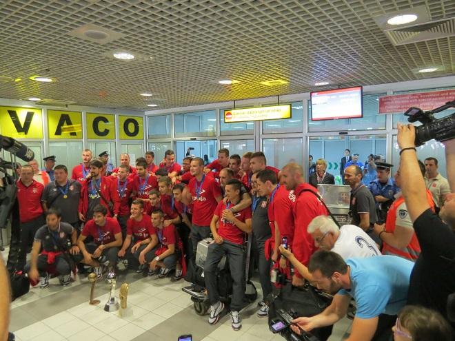 Mladi fudbaleri Srbije