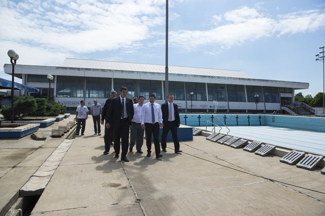 Otvoreni bazeni u Obrenovcu - rekonstrukcija