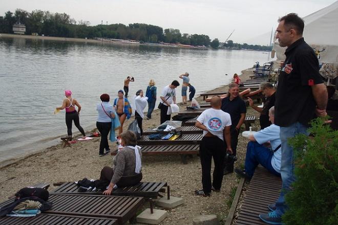 Plivački maraton perajima