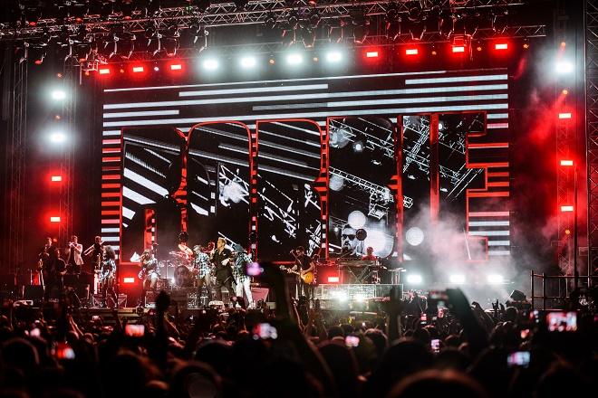 Robi Vilijams - koncert na Ušću