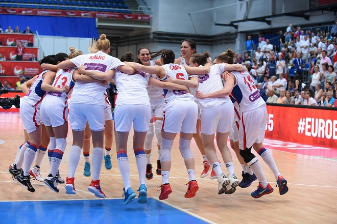 Srpske košarkašice - prvakinje Evrope! (foto: kss.rs)