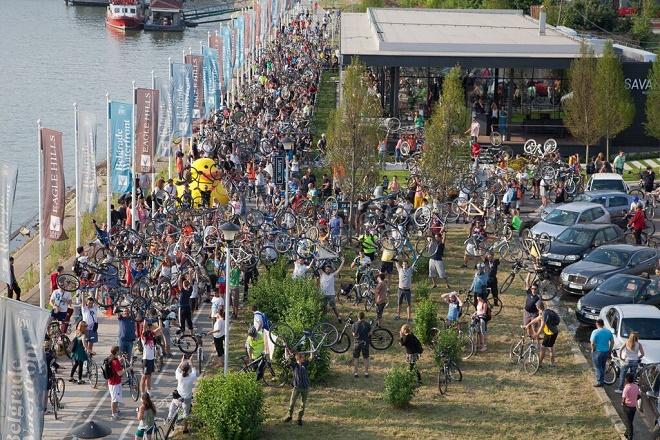 Više od 800 biciklista brani stazu do Ade
