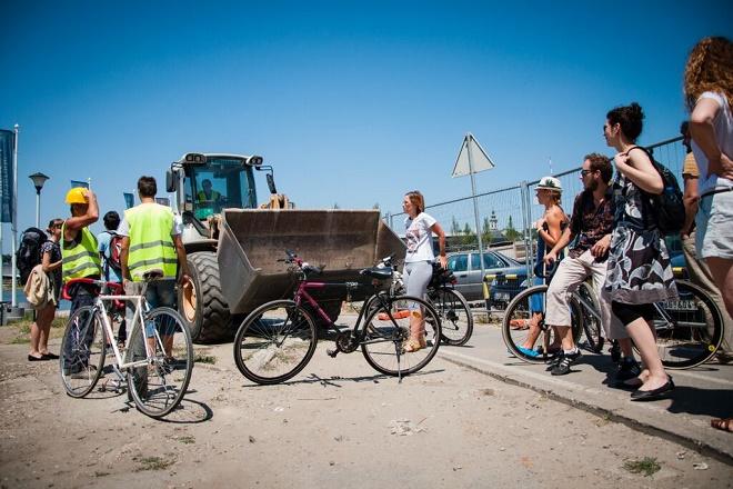 Beograd na vodi - protest biciklista