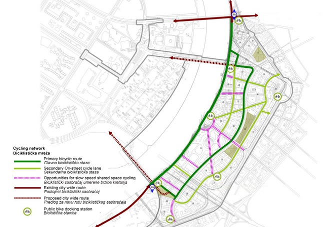 Beograd na vodi - staze za bicikliste