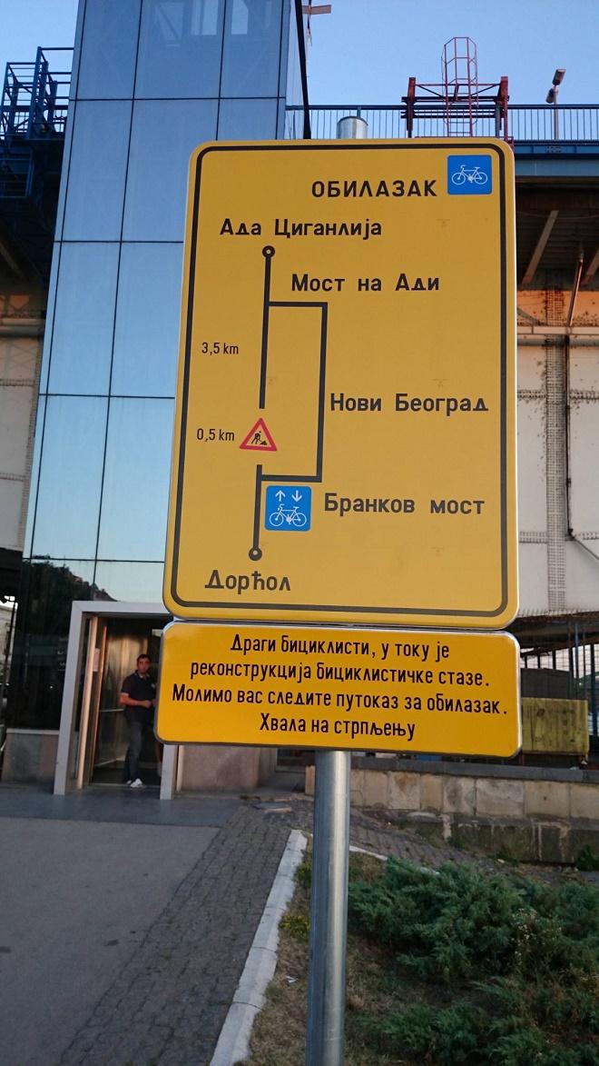 Zatvorena Biciklistička staza