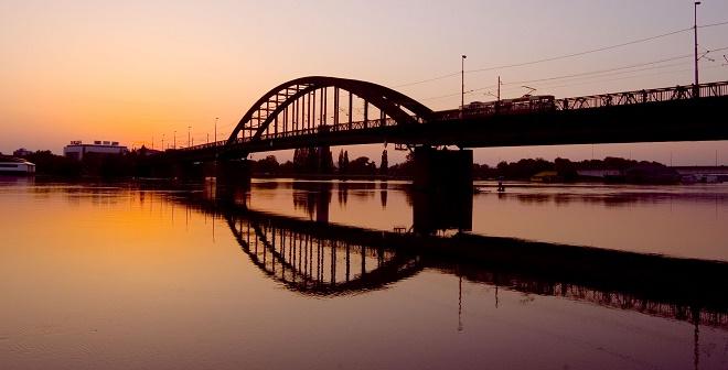 Mostovi Beograda - Stari savski most