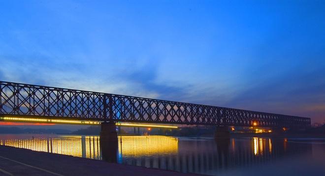 Mostovi Beograda - Stari železnički most