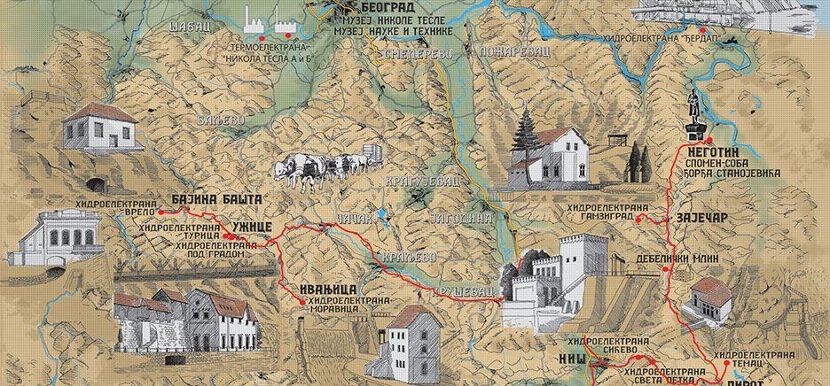 Putevima Tesle kroz Srbiju