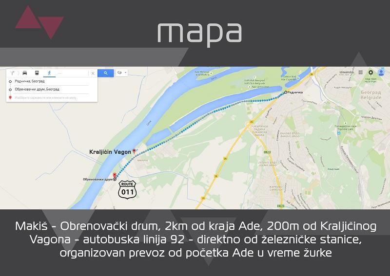 Techno Drive - mapa