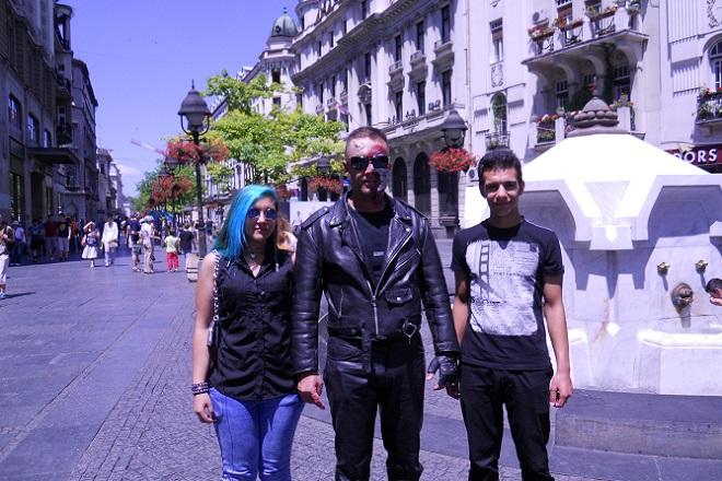 Terminator na ulicama Beograda!