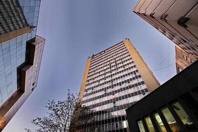 Trg Slavija - Hotel Slavija
