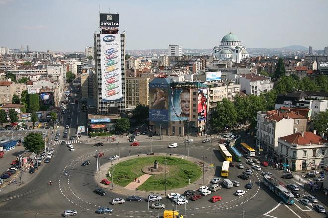 Trg Slavija Veliki Potencijal Prostora