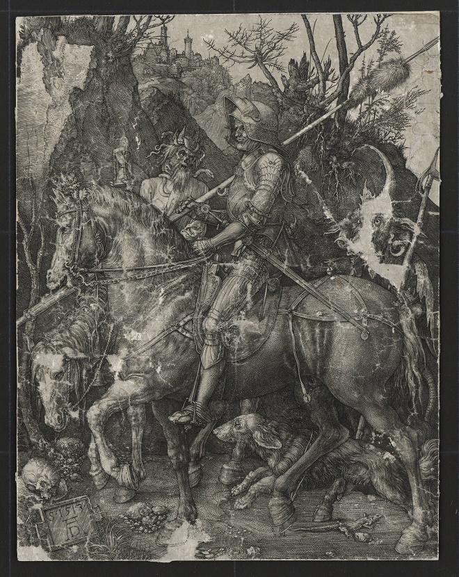 Albreht Direr - Vitez smrt i đavo (1513)