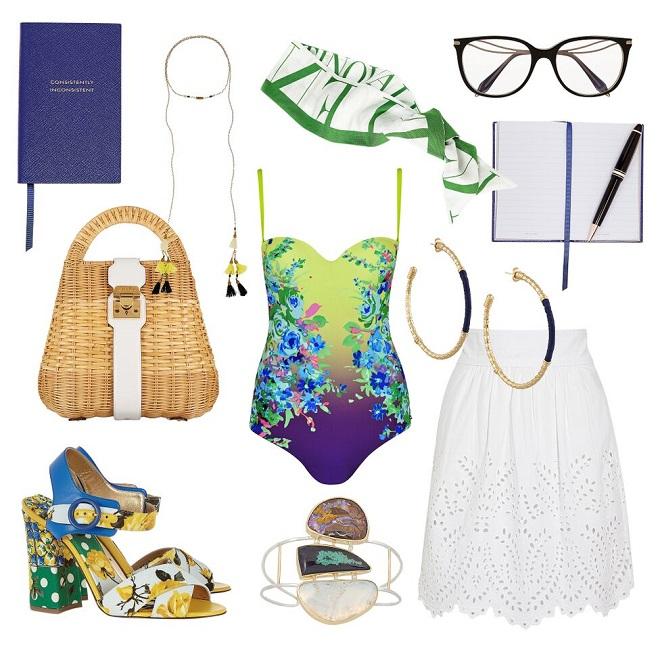 Kupaći kostim – Mediteranski stil