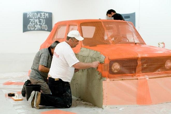 Rudnici kulture: Mladen Miljanović - Our Thing (Cosa Nostra) Installation (foto: Rudolf Schmied)