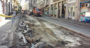 Radovi u Ulici Vuka Karadžića (foto: danubeogradu.rs)