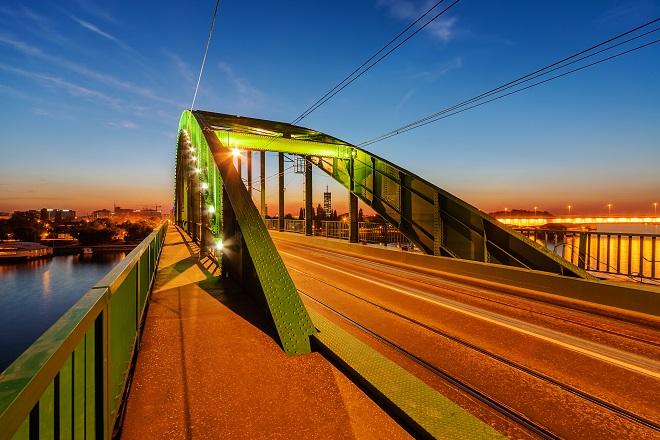 Stari savski most - uskoro novi most u Beogradu